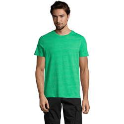 Ruhák Férfi Rövid ujjú pólók Sols Mixed Men camiseta hombre Verde