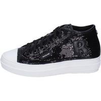 Cipők Női Magas szárú edzőcipők Rucoline BH358 Fekete