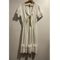 Ruhák Női Rövid ruhák Fashion brands 9176-BLANC Fehér