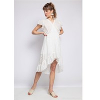 Ruhák Női Rövid ruhák Fashion brands U5233-BLANC Fehér