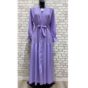 Ruhák Női Hosszú ruhák Fashion brands 2155-LILAS Lila