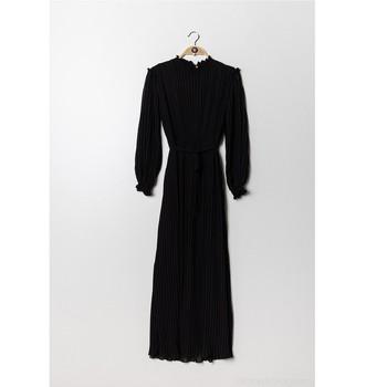 Ruhák Női Hosszú ruhák Fashion brands 9805-NOIR Fekete
