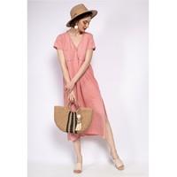 Ruhák Női Rövid ruhák Fashion brands 6658-CORAIL Korall
