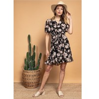 Ruhák Női Rövid ruhák Fashion brands 2145A-NOIR Fekete