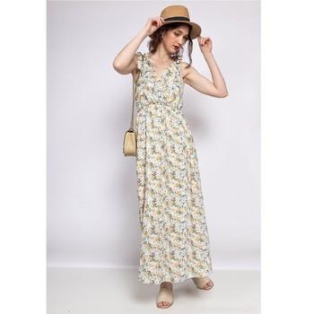 Ruhák Női Rövid ruhák Fashion brands R182-BEIGE Bézs