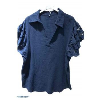 Ruhák Női Blúzok Fashion brands 310311-NAVY Tengerész