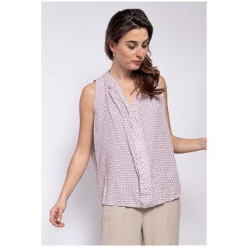 Ruhák Női Blúzok Fashion brands TP25-PINK Rózsaszín