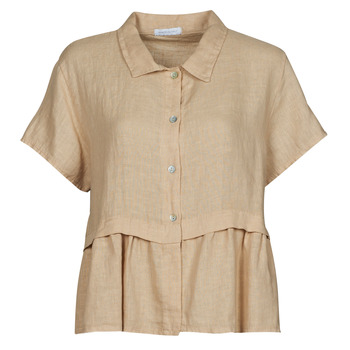 Ruhák Női Blúzok Fashion brands 10998-BEIGE Bézs