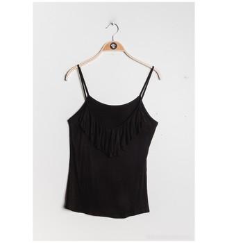 Ruhák Női Blúzok Fashion brands D852-BLACK Fekete