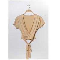 Ruhák Női Blúzok Fashion brands FR029T-BEIGE Bézs