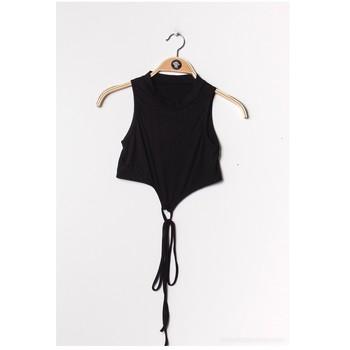 Ruhák Női Blúzok Fashion brands FR070-BLACK Fekete