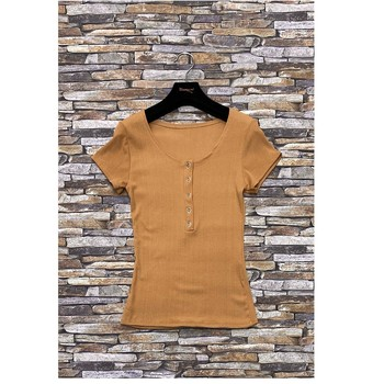 Ruhák Női Blúzok Fashion brands HS-2863-BROWN Barna