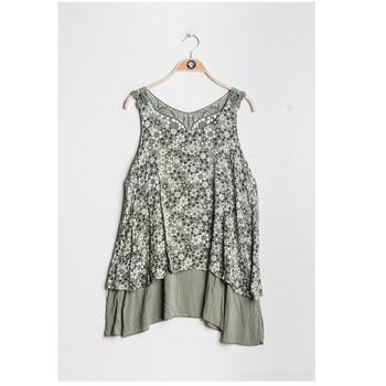 Ruhák Női Blúzok Fashion brands 9673-KAKI Keki