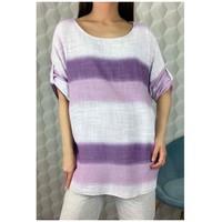 Ruhák Női Blúzok Fashion brands 156485V-LILAC Lila