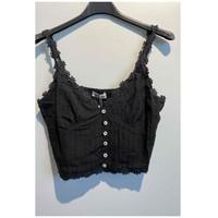 Ruhák Női Blúzok Fashion brands 6133-BLACK Fekete