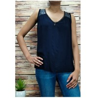Ruhák Női Blúzok Fashion brands 2940-BLACK Fekete