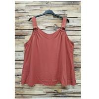 Ruhák Női Blúzok Fashion brands 3841-RASPBERRY Rózsaszín