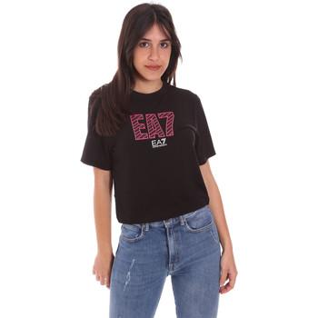 Ruhák Női Rövid ujjú pólók Ea7 Emporio Armani 3KTT23 TJ1TZ Fekete