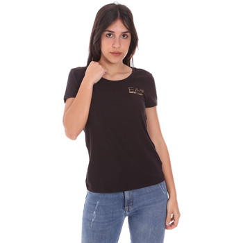 Ruhák Női Rövid ujjú pólók Ea7 Emporio Armani 8NTT65 TJ28Z Fekete