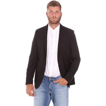 Ruhák Férfi Kabátok Sseinse GAE701SS Fekete