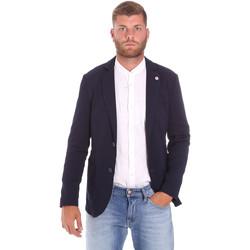 Ruhák Férfi Kabátok Sseinse GAE716SS Kék