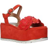 Cipők Női Szandálok / Saruk Docksteps DSE104886 Narancssárga