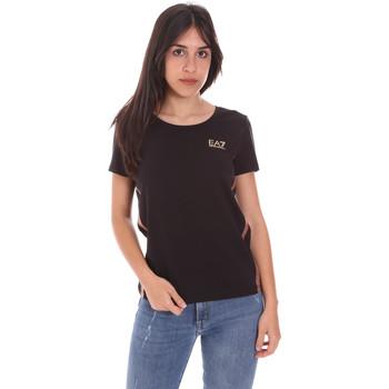 Ruhák Női Rövid ujjú pólók Ea7 Emporio Armani 3KTT51 TJ9VZ Fekete