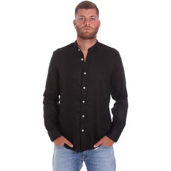 Ruhák Férfi Hosszú ujjú ingek Refrigiwear RM0C10100LI9110 Fekete
