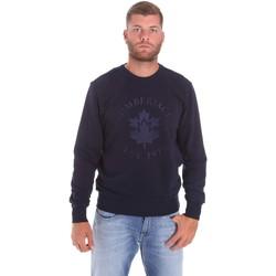 Ruhák Férfi Pulóverek Lumberjack CM60142 016EU Kék