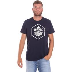 Ruhák Férfi Rövid ujjú pólók Lumberjack CM60343 023EU Kék