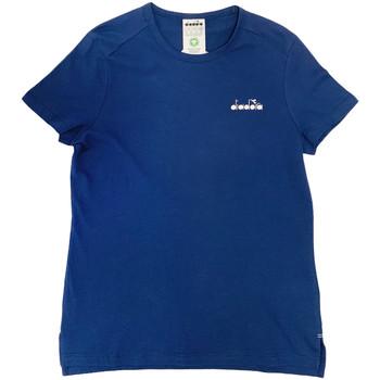 Ruhák Női Rövid ujjú pólók Diadora 102175882 Kék
