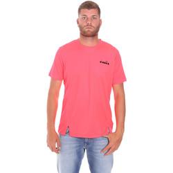 Ruhák Férfi Rövid ujjú pólók Diadora 102175681 Rózsaszín