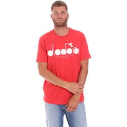 Ruhák Férfi Rövid ujjú pólók Diadora 502176633 Piros