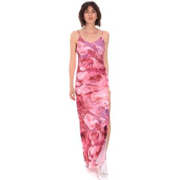 Ruhák Női Hosszú ruhák Me Fui M20-0958X1 Rózsaszín