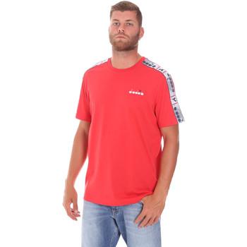 Ruhák Férfi Rövid ujjú pólók Diadora 502176085 Piros