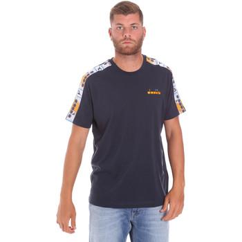 Ruhák Férfi Rövid ujjú pólók Diadora 502176085 Kék