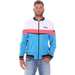 Ruhák Férfi Melegítő kabátok Diadora 102175669 Kék