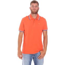 Ruhák Férfi Rövid ujjú galléros pólók Diadora 102161006 Narancssárga