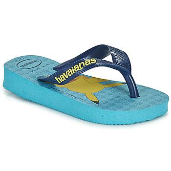 Cipők Fiú Lábujjközös papucsok Havaianas KIDS TOP POKEMON Kék