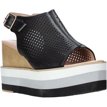 Cipők Női Szandálok / Saruk Onyx S20-SOX757 Fekete
