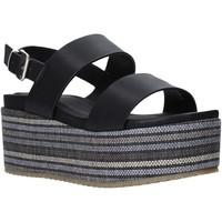 Cipők Női Szandálok / Saruk Onyx S20-SOX756 Fekete
