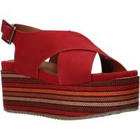 Cipők Női Szandálok / Saruk Onyx S20-SOX753 Piros