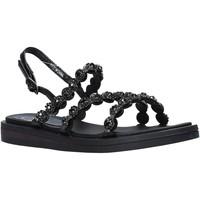 Cipők Női Szandálok / Saruk Onyx S20-SOX723 Fekete