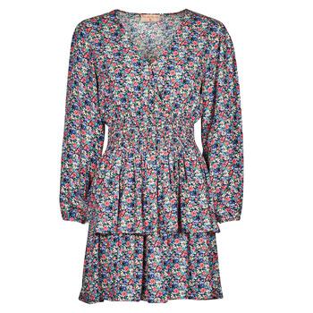 Ruhák Női Rövid ruhák Moony Mood PAPIS Rózsaszín