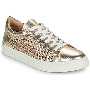 Cipők Női Rövid szárú edzőcipők Cosmo Paris WELLY Arany