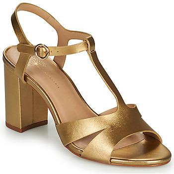 Cipők Női Szandálok / Saruk Cosmo Paris ZOUM Arany