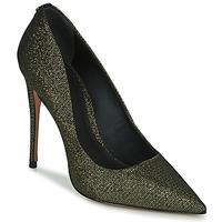 Cipők Női Félcipők Cosmo Paris AELIA 2 Fekete  / Arany