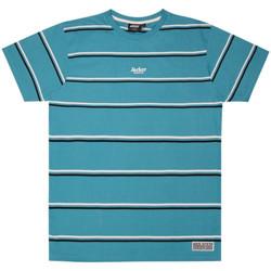 Ruhák Férfi Rövid ujjú pólók Jacker Poh stripes Kék