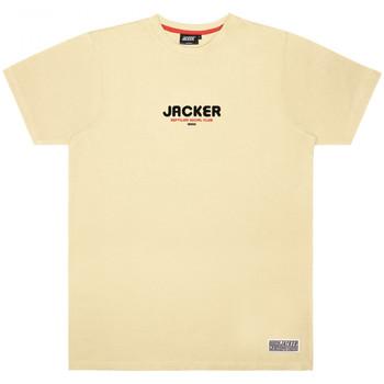 Ruhák Férfi Rövid ujjú pólók Jacker Reptilian Bézs