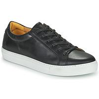 Cipők Férfi Rövid szárú edzőcipők Carlington  Fekete